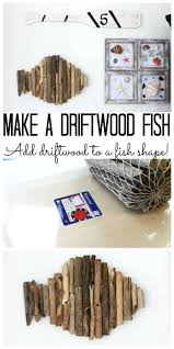 beach driftwood decor wall art home the country chic cottage make for your  a quick and