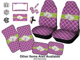 clover car seat covers set of two personalized