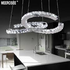 nice circle chandelier light circle ring c shape chandelier led pendant light top quality md