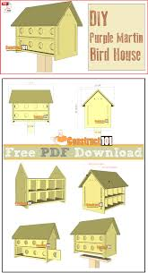 purple martin bird house plans. Simple Bird Purple Martin Bird House Plans Free PDF Download Cutting List And  Shopping List For Martin Bird House Plans
