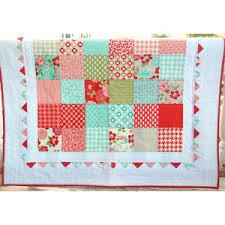 Vintage Modern Baby Quilt - Patchwork Quilt - Baby Blanket ... & Vintage Modern Baby Quilt - Patchwork Quilt - Baby Blanket - Modern Baby  Quilt - Quilted Adamdwight.com