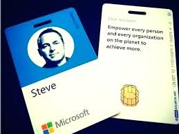 Staff Id Card Template Employee Photo Badge For Ms Word Free Pretty