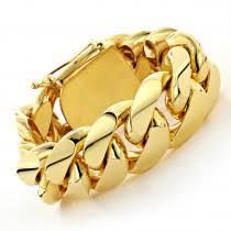 add to pare half kilo miami cuban link gold bracelet solid 10k