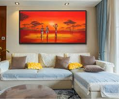 Modern Wall Paintings Living Room Popular African Wall Art Buy Cheap African Wall Art Lots From