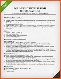 Pizza Delivery Resumes Delivery Driver Resume Examples