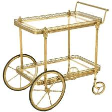 antique bar cart. Vintage French Brass Tea Or Bar Cart Carts Teas And In Antique