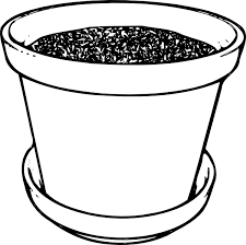 Small Picture Flowerpot With Soil Clip Art at Clkercom vector clip art online