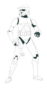 Star Wars Clone Wars Coloring Pages Clone Trooper Coloring Pages