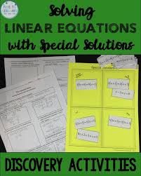 multi step equations notes foldable one none infinite solutions