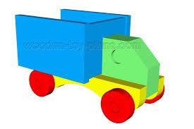 toy dump truck plans