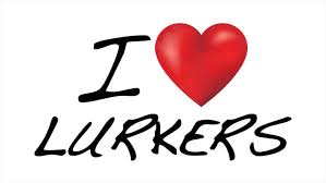 Image result for love our lurkers 2017