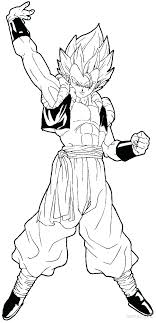 Dragon Ball Z Coloring Pages Vegeta Super Saiyan 4 Dragon Ball Super