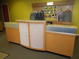new commercial cabinetry for santosha creative surfaces blog reception desk6
