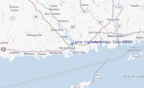 Saybrook Tide Chart Lyme Highway Bridge Connecticut Tide Station Location Guide