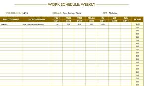 Weekly Template Word Blank Calendar Free Work Schedule Templates And ...