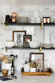 Decorating Kitchen Shelves 25 Best Ideas About Kitchen Counter Decorations On Pinterest
