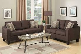Light Gray Settee Likable Modern Brown Sofa Red Cushions Blue Dark Throws Set