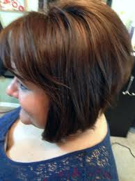 Inverted Bob Carmel And Red Highlights