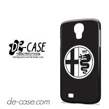 alfa romeo logo black and white. alfa romeo car logo deal473 samsung phonecase cover for galaxy s4 black and white m
