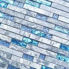 blue glass tile glass tiles sea blue glass tile kitchen marble bathroom aqua blue glass mosaic blue glass tile