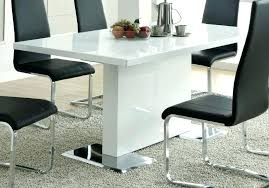 dining table detail glossy white gloss the range 5 room set white dining table and chairs