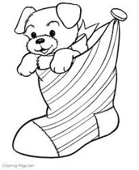 Small Picture Christmas Stockings Coloring Page 1 Christmas stocking
