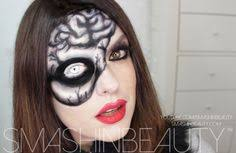 skeleton skull brain makeup tutorial 2 by smashinbeauty deviantart on