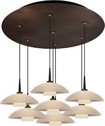 Led Multi Light Pendant Bruck 240011bz 7 Elv 223912whbz Jas Contemporary Bronze White Led Multi Ceiling Light Pendant