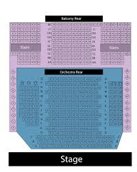 Seating Chart Showplace Performance Centre