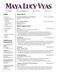 Double Sided Resume Unusual Resume Print Double Sided Gallery Entry Level Resume 1