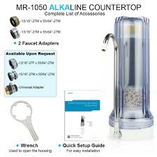 apex mr 1050 countertop drinking water filter blue for