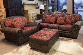 rustic leather living room furniture. Rustic Living Room Furniture Set A Red Leather