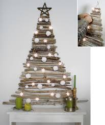 25 MESMERIZING HANDMADE CHRISTMAS TREES  Wall Christmas Tree Diy Wooden Branch Christmas Tree