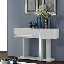 white console table with drawer. Nicoli Console Table In White High Gloss With 2 Drawers Drawer