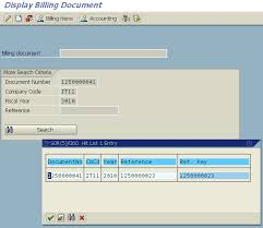 document invoice find invoice number from fi document number