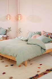 Pastel Bedroom Eyelet Stripe Duvet Cover Urban Outfitters Urban And Stripes