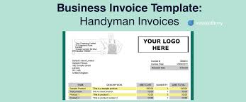 Business Invoice Template: Handymen Invoices | Invoiceberry Blog