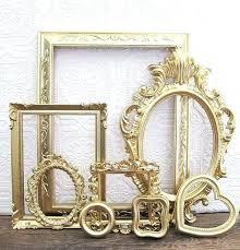 vintage gold picture frames gold wall frames vintage gold picture frames for baby girl nursery walls vintage gold picture frames