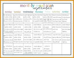 monthly meal planner template monthly meal planner template demonow info