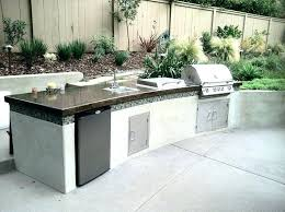 outdoor countertops material this is outdoor kitchen materials outdoor kitchen work table ideas porch and landscape material best outdoor kitchen