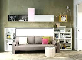 murphy bed over sofa combo book wall space saving shelves regarding with ideas diy murphy bed over sofa