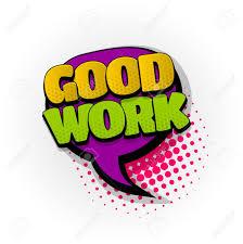 Good Job Template Good Work Nice Job Hand Drawn Pictures Effects Template Comics