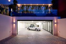 luxury home lighting. luxury white garage on the basement paired with large storage bright lighting floor home c