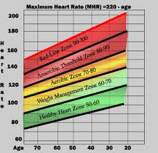 Optimal Heart Rate Chart Physical Activity Physiological Changes