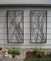 outside metal wall hangings