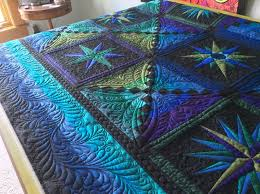 24 best Crafts-Quilts-J Beyer images on Pinterest | Patterns, 3d ... & MoonGlow with quilting. Adamdwight.com