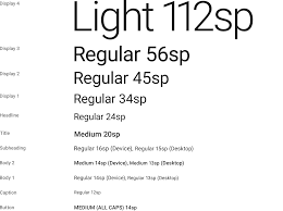 Accessibility Minimum Font Size For Mobile View User