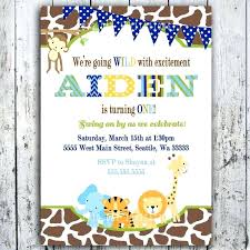 Free Printable Safari Birthday Invitations Safari Birthday Invitations Free Jungle Birthday Invitations Safari