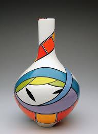 Pamela Summers Polychrome —Cliff House Studio & Gallery Cliff House Studio  and Gallery-Cliffhouse…   Pottery painting designs, Pottery painting,  Painted flower pots