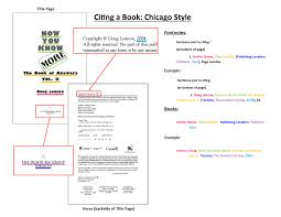 Citing Books Chicago Reference Style With Examples Essaymojo